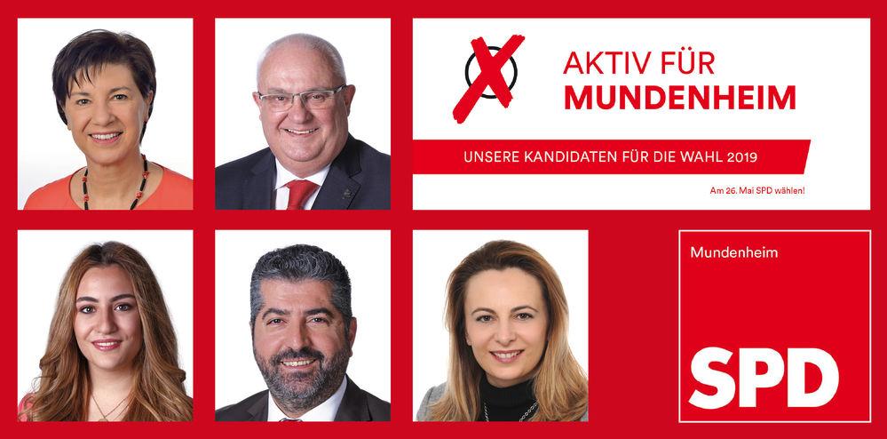 Die Stadtratskandidaten der SPD Mundenheim